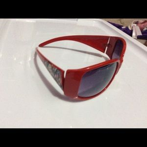 Accessories - Red sunglasses nwot